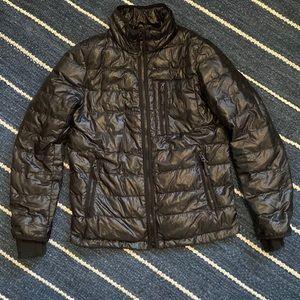 J. Crew Black Down Puffy Zip Jacket SZ XXS